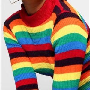 ISO rainbow tight long sleeve shirt